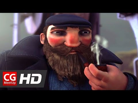 "CGI Animated Short Film: ""The Incredible Marrec"" by ESMA 