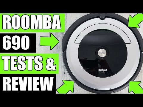 Irobot Roomba 690 Robot Vacuum Cleaner Review
