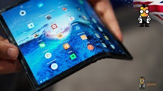 Royole FlexPai Hands On - First Foldable Phone on the Market