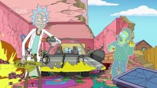 Rick a Morty v Simpsonech [CZ Dabing]