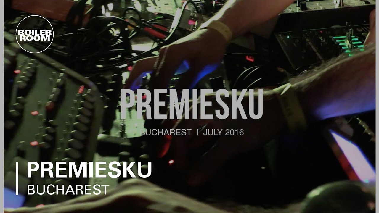 Premiesku - Live Performance @ Boiler Room Bucharest x Interval 2016