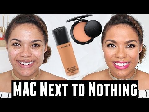 MAC Next to Nothing Face Color + Next to Nothing Powder Review   samantha jane