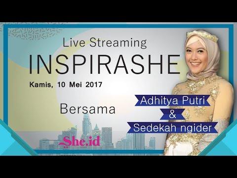 InspiraShe bersama Adhitya Putri dan Komunitas Sedekahngider