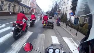 preview picture of video 'Wadowice Motomikołaje 2014'