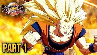 "Dragon Ball FighterZ STORY MODE - PART 1 WALKTHROUGH LIVE! (DBZ FIGHTERZ) ""Dragon Ball Z FighterZ"""