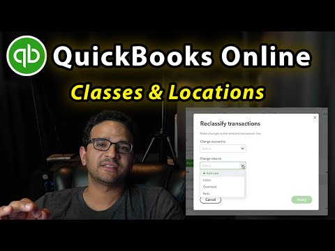 QuickBooks Online: Classes & Locations (and how to reclassify in batch)
