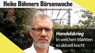 Böhmers Börsenwoche: Handelskrieg, Italien-Krise & Deutsche Bank sorgen für schlechte Stimmung