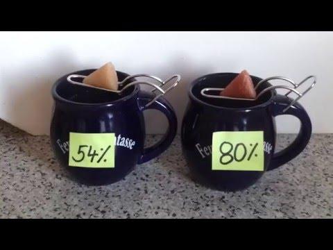Feuerzangenbowle 54 % vs 80 % Rum