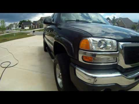 2005 GMC Sierra 2500HD - Hummer H2 Wheels Install/Overview