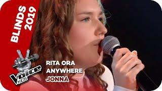Rita Ora - Anywhere (Jonna) | Blind Audition | The Voice Kids 2019 | SAT.1