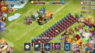 castle clash gem roll