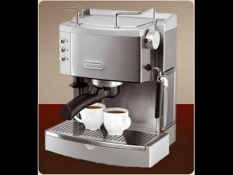 , DeLonghi EC702 15-Bar-Pump Espresso Maker, Stainless