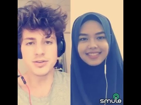 We Don't Talk Anymore - Charlie Puth & Sheryl Shazwanie (duet on Smule app)