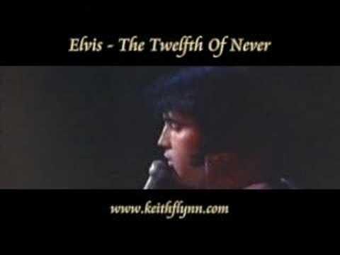 ELVIS PRESLEY TWELVE OF NEVER