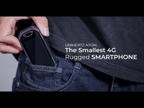 Unihertz Atom – The Smallest 4G Rugged Smartphone-GadgetAny