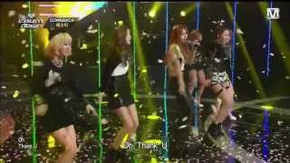 BESTie - Thank U Very Much (LIVE中字)