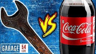 КОКА КОЛА vs ОЧЕНЬ РЖАВЫЙ КЛЮЧ