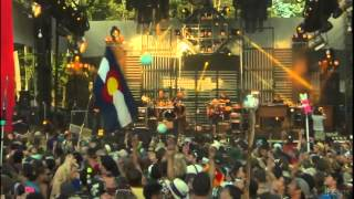 String Cheese Incident - Black & White ~ Indian Creek - Electric Forest - 2012