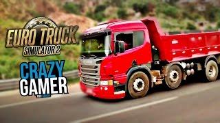 Segundo Comboio Crazy Gamer Euro Truck Simulator 2 Multiplayer | LIVE HD