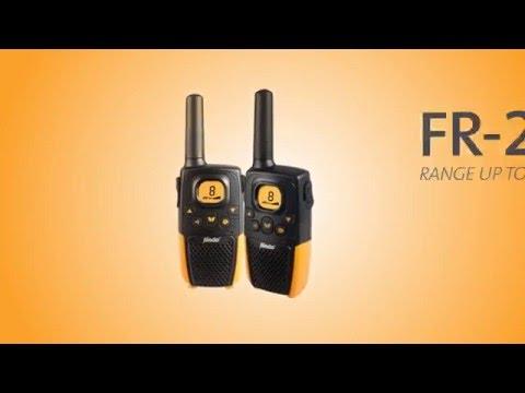 Alecto FR-26 walkie-talkie