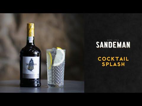 Cocktail Sandeman Splash