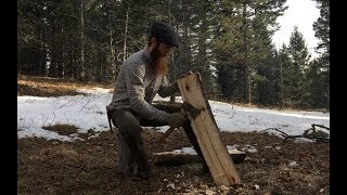 Solo Bushcraft Overnighter in the Mountains