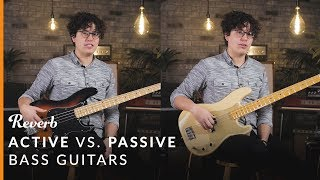 Active Vs. Passive Bass Guitars: Which To Buy | Reverb