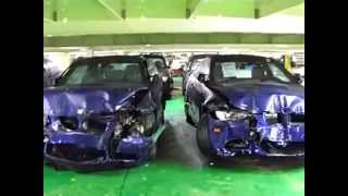 Crumpled Brand new BMWs DESTROYED on cargo ship, NOT Secured Promptly