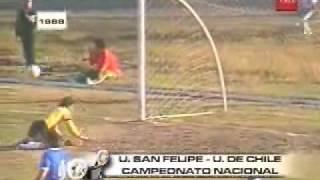 Unión La Calera Vs. U. De Chile ( 1988)