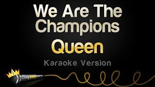 Queen   We Are The Champions (Karaoke Version)