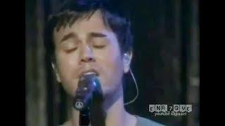 Enrique Iglesias - Somebody's me (LIVE)