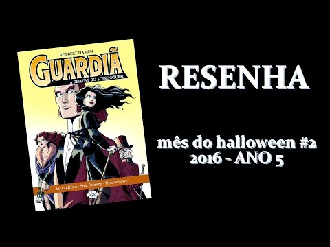 [RESENHA] Guardiã: A Detetive do Sobrenatural - Robbert Damen | Mês do Halloween #2 - ANO 5