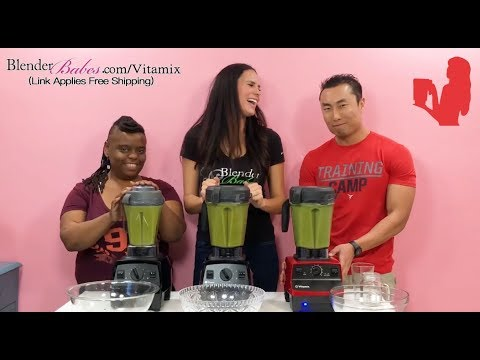 Vitamix Explorian Review E310 vs E320 vs 5300 | Blender Babes