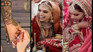 Deepika Padukone Wedding Mehndi Design video Recreation