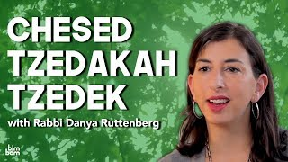Chesed, Tzedakah, and Tzedek: <br/>What&#8217;s the Difference