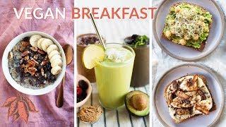 5 MINUTE  Vegan Breakfast Recipes 🏃