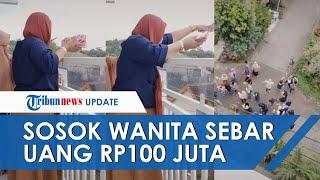 Sosok Ayang Yasmin, Wanita Asal Malang yang Sebar Uang Rp100 Juta dari Balkon: Sering Gini Juga