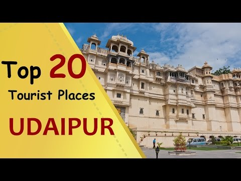 "Video ""UDAIPUR"" Top 20 Tourist Places 