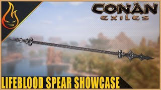 Conan Exiles Lifeblood Spear Legendary Weapon Spotlight