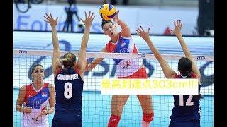 バレーボールセルビアのエースティヤナ・ボシュコビッチ!必見!魅惑のスーパープレイ集!volleyballTijanaBošković