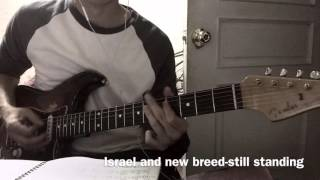 Israel And New Breed-Still Standing Guitar Cover