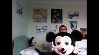 How To Put On A Mickey Mouse Mascot Costume