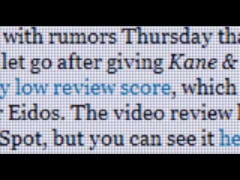 GameSpot Gets Oliver Stone Treatment