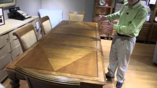 Clearwater Dining Room Furniture, American Drew Dining Room Set, Wall Unit,