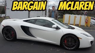 I Bought the Cheapest McLaren MP4-12C in the USA