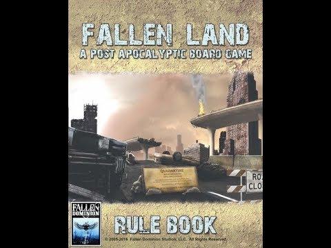 The Purge: # 1681 Fallen Land: A Post Apocalyptic Board Game: A crazy good Ameritrash good time of life after the bombs