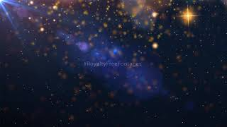 Birthday background effects video | Gold particles background effects | Royalty Free Footages