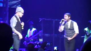 """TobyMac and Brandon Heath performing """"Steal My Show"""", live from Philadelphia, PA December 8, 2012"""