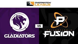 Quarter-Final C | Los Angeles Gladiators vs Philadelphia Fusion | May Melee NA | Day 2