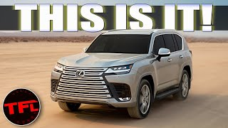 2022 Lexus LX 600 WORLD PREMIERE: The Land Cruiser We Can Actually Buy Has Officially Arrived!